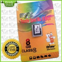 Micro SD WStor 8gb Class 10