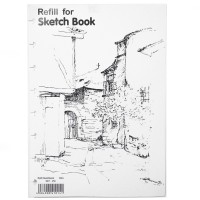Lyra Sketch Book Refill A4 (isi 30)