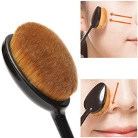 Oval Make Up Brush - Kuas Make Up