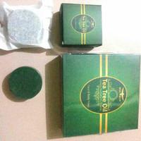 Sabun Tea Tree Untuk Wajah Berminyak & Badan POM - Face & Body Soap