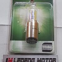 Bohlam BA20D Autovision Rainbow Pelangi Lampu Motor Vespa Thunder Kymc