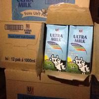 Susu Ultra UHT 1000ml putih