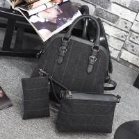 TERMURAH   TAS import wanit set bag + dompet pouch F21900