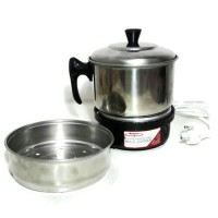 Multi Cooker Maspion MEC-1750 / Alat Masak Serbaguna / Panci Listrik