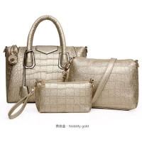 TERMURAH   TAS wanita croco import handbaf shoulder bag pouch domp