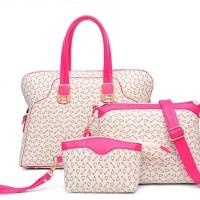 TERMURAH   TAS import wanita fashion bag dompet + pouch BS690