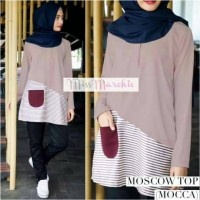 blouse moscow top mocca
