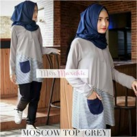 blouse moscow top grey