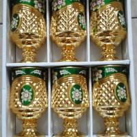 Jual gelas fiori 6pcs Baru   Peralatan Kebutuhan Rumah Tangga Murah