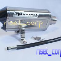 Knalpot Racing CBR 150R Facelift/CB 150R/CBR Lokal/CBR 250RR-R9 Titan