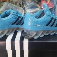 Sepatu Running Adidas Spring Blade Biru Hitam