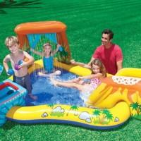 Kolam Renang Dinasaurus Kids Play Center Swimming Pool - INTEX 57444