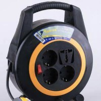 Yunior LY Kabel Roll Turbo 4 Lubang + Saklar - 116 SK 10M 10 M