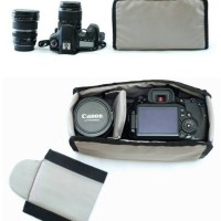 Tas / Kantong / Wadah Kamera DSLR / Mirrorless - Compartment Insert