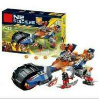 Mainan Lego Lele  Nexo Soldier/ Kendaraan