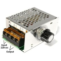 4000w 220v Ac Scr Voltage Regulator Dimmer Motor Speed Controller