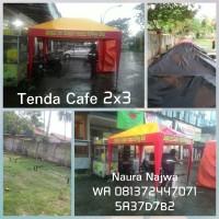 Tenda Cafe 2x3 /Tenda Jualan /Tenda Promosi