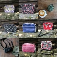 Valencia Sling Bag Canvas Import 7 motif