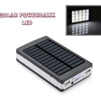 Power Bank Solar Cell Charger+20 Led/ Pengisi Daya Tenaga Surya