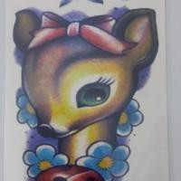 Tato Temporer - tatto temporer - temporary tattoo MC699