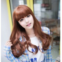 HO5229 - Wig Rambut Palsu Panjang (Light Brown)