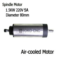 220V 1500W 1.5KW CNC router Air - Cooled milling Spindle Motor AP62