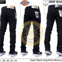 celana jeans hitam skiny,slimpit,pensil cowok