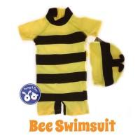 Bee Swimsuit / Baju Renang Diving Lebah Anak Bayi - 12M