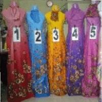Mukena Cantik Motif Mawar Gradasi Made in Bali