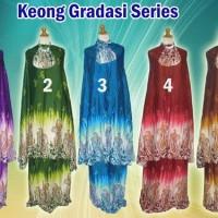 Mukena Gradasi Keong Series Made In Bali