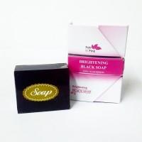 Sabun Pencerah Kulit - Brightening BlackSoap Fair n Pink Ori & BPOM