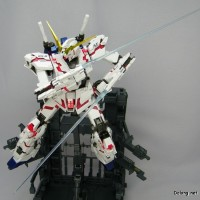 [NGGM53] MG 1/100 GUNDAM UNICORN OVA HD COLOR + MS CAGE DABAN MODEL