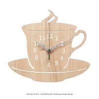 Jam Dinding Unik Artistik - CoffeeCup Wall Clock