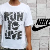 Kaos Oblong Nike Run To Live (T-shirt)
