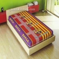 Sarung Kasur/Busa Murah 120x200x20cm KLub Bola Barcelona/Barca Mur