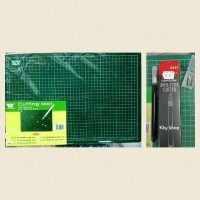 PAKET CUTTING MAT SDI A3 + Pen cutter 0491
