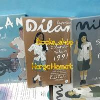 Paket Novel Pidi Baiq (Dilan 1, Dilan 2 dan Milea) Harga Hemat