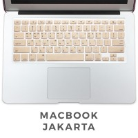 Keyboard Protector Macbook Pro 13 Inch Gold