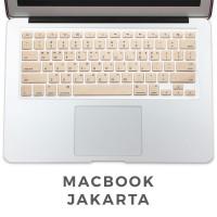 Keyboard Protector Macbook Air 13 Inch Warna Gold