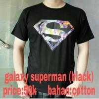 """kaos tumblr galaxy superman"""" lengan pendek"""