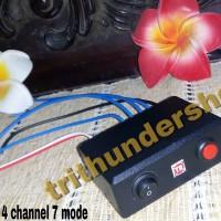 modul strobo led 4 channel 7 mode by trithundershop