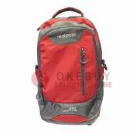 Tas Ransel Real Polo 6333 Red Ransel/Kantor/Sekolah/Backpack