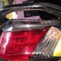 Fender atas Lampu Nmax-Ducktail Nmax Carbon Kevlar