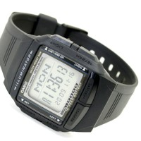 JAM TANGAN PRIA CASIO DB-36-1AVDF.DATA BANK ILLUMINATOR