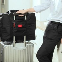 Foldable Travel Bag / Hand Carry Tas Lipat / Koper Bagasi Organizer