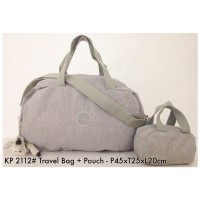 Tas Travel Pouch Kipling Travel Bag with Pouch Bag 2112 - 8