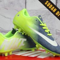 Nike Mercurial Vapor X Abu Stabilo Anak(sepatu bola anak,futsal,kids)