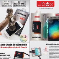 UBOX Anti Smash 0.25mm Screen Protector XiaoMi Mi 4i/Mi4i/Mi4C Origina