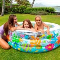 Kolam Renang Anak Aquarium Swimming Pool 1.52mx56cm - INTEX #58480