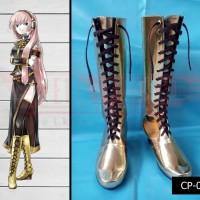Sepatu cosplay Vocaloid Megurine luka